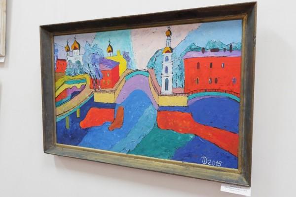 В Астрахани открылась выставка петербургской художницы